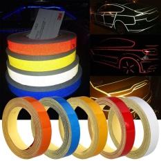 Mobil Auto Truk Strip Reflektif Malam Pita Peringatan Sticker 1 CM X 5 M -IntlIDR40000