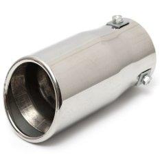 Spesifikasi Mobil Auto Kendaraan Chrome Exhaust Pipe Tip Muffler Steel Stainless Trim Tail Tube Yg Baik