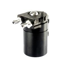 Mobil Silinder Aluminium Engine Oil Catch Reservoir Breather Tangki (Hitam)-Intl