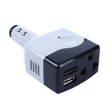 Jual Car Dc 12 24V To Ac 220V Voltage Power Inverter Converter Usb Charger Intl Baru