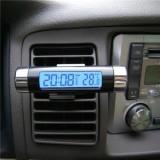 Jual Lcd Tampilan Suhu Termometer Mobile Digital Kalender Jam Waktu Lampu Latar Intl Branded Murah