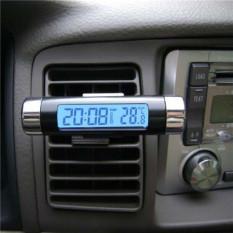 Spesifikasi Lcd Tampilan Suhu Termometer Mobile Digital Kalender Jam Waktu Lampu Latar Intl Beserta Harganya