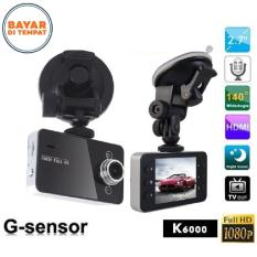 Car DVR K6000 Car Blackbox 1080p HD DVR 2,5