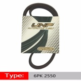 Review Car Generator Transmission Belt 6Pk 2550 Air Conditioning Fan Belt Wear Resisting Non Slip Black Belt Intl Oem Di Tiongkok