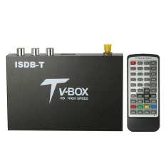 Mobil HD ISDB Full SEG Receiver ISDB-T Mini Mobile Digital TV BOX (TIDAK Mendukung B-CAS Card)-Intl