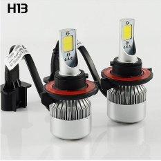 Lampu Depan Mobil Tongkol Mobil Lampu LED Mobil Kepala Lampu Kabut C6 (H13)-Intl