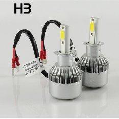 Lampu Mobil Lampu COB Mobil Lampu Depan Mobil LED Lampu Kabut Depan C6 (H3)-Intl