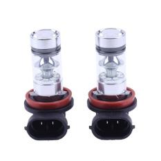 Daya Tinggi Mobil Lampu Kabut 100 W H8/H11 20SMD 100 W LED Lampu Kabut (Ice Blue) -Intl