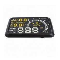Mobil Hud Kepala Up Display Ash-4c-Bt Alat Diagnostik Obd Ii Proyeksi Display-Intl By Rainbowonline.