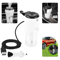 Car Humidifier with 2 USB Charger Port Charging - intl
