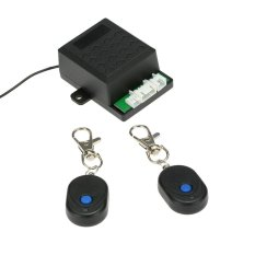 Mobil Immobilizer Anti Pencurian Alarm Sistem Keamanan Perlindungan dengan 2 Pengendali Jarak Jauh-Intl
