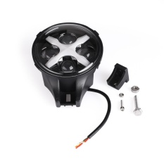 Mobil LED Beam IP67 Mengemudi Lampu Spot Kabut Offroad Round Red Headlight Lampu-Intl