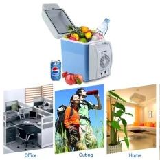 Car Mini Fridge Portable 12V 7.5L Auto Travel Refrigerator Quality ABS Multi-Function Home Cooler Freezer - intl