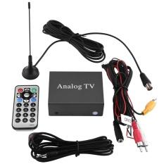 Mobil Mobile DVD TV Receiver Analog TV Tuner Sinyal Kuat Box dengan   Antena Remote Controller