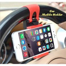 Car Mobile Holder (Holder Hp yang dipasang di stir mobil)