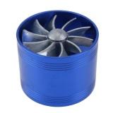 Jual Mobil Refitting Turbin Turbo Charger Udara Asupan Gas Bahan Bakar Saver Fan Vent Biru Original