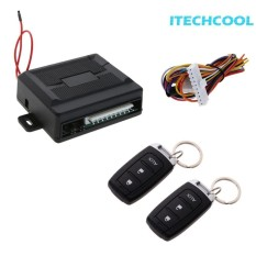 Mobil Remote Central Kit Door Lock Alarm Pencuri Keyless Entry System
