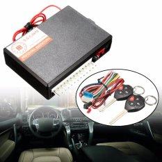 Mobil Remote Control Burglar Alarm Kunci Tanpa Kunci Masuk Sistem untuk Toyota 2 Remote-Intl