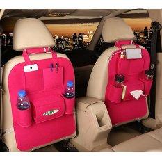 Car Seat Depan atau Belakang Seat Car Organizer dengan Multi-Pocket Travel Tas Penyimpanan Satu