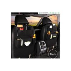 Jual Car Seat Organizer Tas Mobil Multifungsi Dipasang Di Belakang Jok Hitam Satu Set