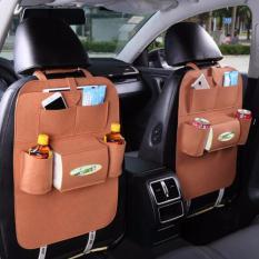 Car Seat Organizer - Tas Mobil Multifungsi Dipasang Dibelakang Jok