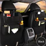Dapatkan Segera Car Seat Organizer Tas Mobil Multifungsi Dipasang Dibelakang Jok Hitam