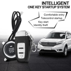 Car Smart Alarm Remote Initiating System PKE Start Stop Engine System with Auto Central Lock and Keyless Entry - intl