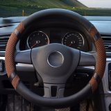 Jual Car Steering Wheel Covers Diameter 15 Inch Pu Leather For Summer Coffee Intl Yingjie Di Tiongkok