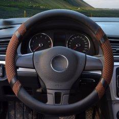 Jual Car Steering Wheel Covers Diameter 15 Inch Pu Leather For Summer Coffee Intl