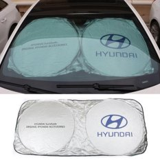 Car Sunshade Sun shade Front Rear For Hyundaii I20 I30 I35 I40 Tiburon Atos - intl
