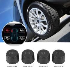 【Beli 1 Gratis 1 Hadiah Gratis】Mobil Ban TPMS Tekanan Monitor Eksternal Sistem Sensor TW--Intl