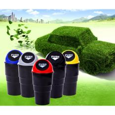 Car Trash Bin & Tong Sampah Mobil Mini Cup Multifungsi Tempat Koin 1 Pc - Warna RANDOM