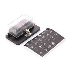 Mobil Kendaraan Otomatis Internal Sirkuit Sekering Kotak Casing Block 4Way W/Lampu LED-Internasional