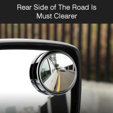 Mobil Kendaraan Blind Spot Mirror Rear View Mirror Hd Kaca Cembung 360 Derajat View Bisa Disesuaikan Mirror Silver-Intl By Autoleader