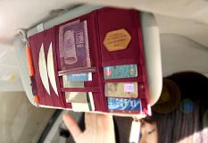 Harga Mobil Visor Tempat Penyimpanan Case Pelindung Matahari Cd Pemegang Peta Kartu Penyimpanan Pouch Bag Dompet Kantong Auto Tas Penyimpanan Untuk Kursi Belakang Mobil Asli