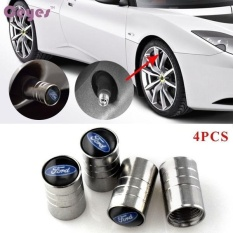 Kualitas Mobil Roda Ban Katup Tirus Stem Udara Caps Cover Case Untuk Ford Focus 2 3 Fiesta Kugo Mk2Emblem Auto Aksesoris Mobil Styling Stainless Steel 4 Pcs Set Intl Oem