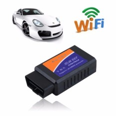 Car WIFI OBD 2 OBD2 OBDII Code Reader Scan Tool. compatible with IOS. Android & Windows Devices (Blue) - intl