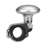 Spesifikasi Carbon Car Steering Wheel Spinner Knob Auxiliary Booster Bantuan Kontrol Handle Silver Yang Bagus