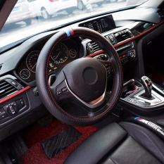 Harga Carbon Fiber Sport Car Steering Wheel Cover Tiga Warna Ukuran 38 Cm Untuk Bmw X1 X3 X5 X6 E36 E39 E46 E30 E60 E90 E92 Intl Oem