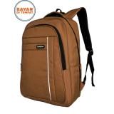 Beli Carboni Backpack Tas Ransel Laptop Ma00038 Red Raincover Waterproop Ber Logo Original Lengkap