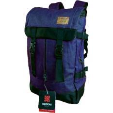 Carboni Backpack Tas Ransel Outdoor Adventure Semi keril RA00040 18 45 Liter - Blue  Original Carboni + Raincover