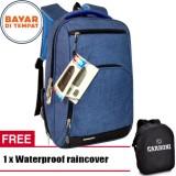 Beli Carboni Make My Day Original Casual Backpack Laptop Sistem Ra000Ver Waterproop 13 17 Blue Rainco Carboni Murah