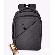 Beli Carboni Tas Ransel Laptop 17 Inchi Aa00050 Polyester Serat Nylon Original Grey Lengkap