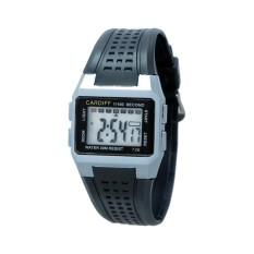 Cardiff LCD 726 Jam Tangan Pria dan Wanita Original Asli Water Resistant Terbaik Murah Bergaransi