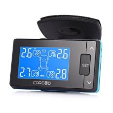 CAREUD U902 LCD Display Mobil Sistem Pemantauan Tekanan Ban dengan Empat Sensor Eksternal Nirkabel-Intl