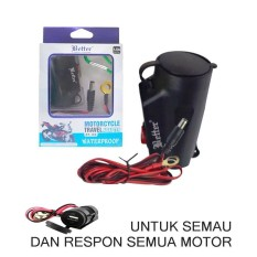 Carger Motor-Tahan Air Motorcycle Travel Adapter Bt-189 Waterproof By Original Zone Store.