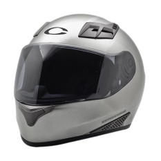 Cargloss New Sport One Helm Full Face - Silver