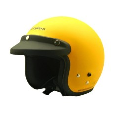 Situs Review Cargloss Retro Excotic Helm Half Face Yellow Doff