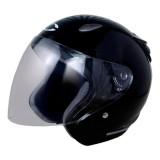 Toko Cargloss Ycn New Oackley Helm Half Face Deep Black Termurah Jawa Barat