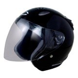 Cargloss Ycn New Oackley Helm Half Face Deep Black Cargloss Diskon 30